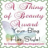 A Thing of Beauty Award