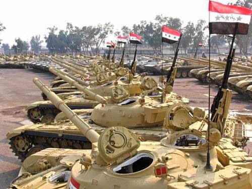 Irak Beli Tank Dari Ceko Perangi Isis