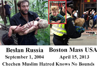 Beslan y Boston, el horror del yihadismo