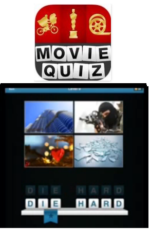 Libellés : movie quiz , Solution movie quiz niveau 6 7 8 9 10