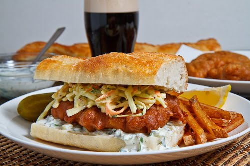 Crispy+Beer+Battered+Fish+Sandwich+with+Coleslaw+and+Tartar+Sauce+and ...