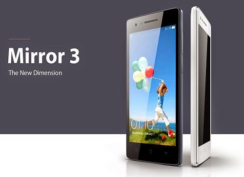 Harga Terbaru Oppo Mirror 3 dan Spesifikasi Lengkap