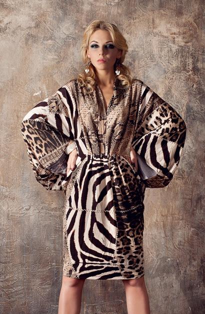 фото платья роберто кавалли 2014