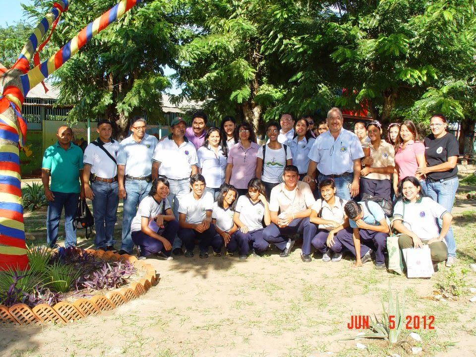 Con Wilfredo, Cristina en ETALG