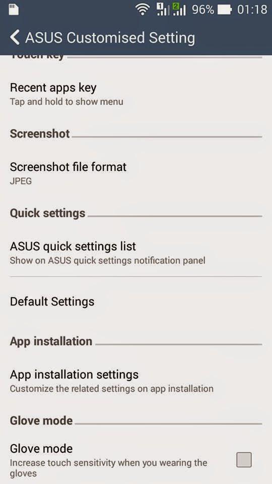memindahkan App ke memory eksternal pada Zenfone