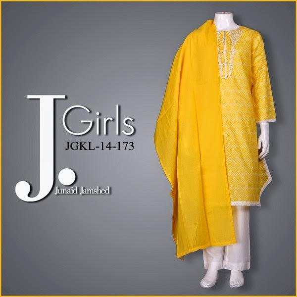 Junaid Jamshed Girls Eid Pret Collection