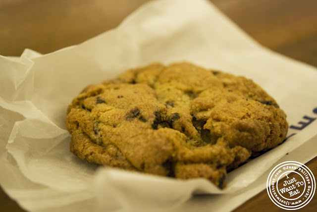 Image of Chocolate chip cookie at City Bakery in NYC, New York