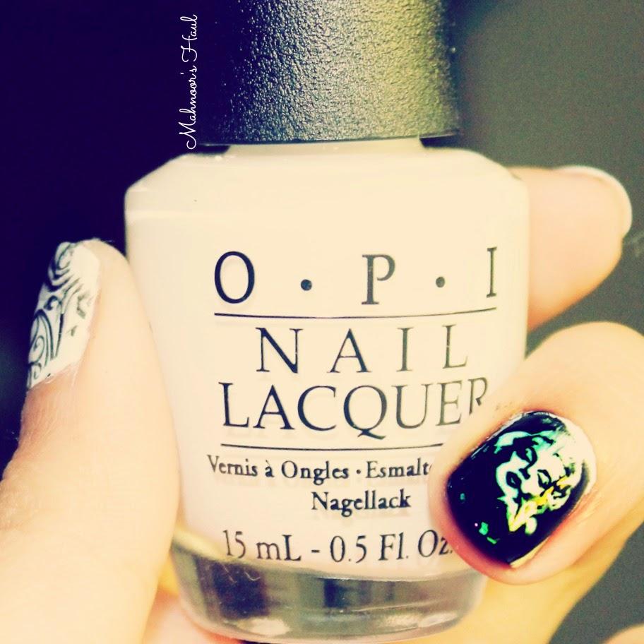 Mahnoor\'s Haul: NOTD: Marilyn Monroe Nails!