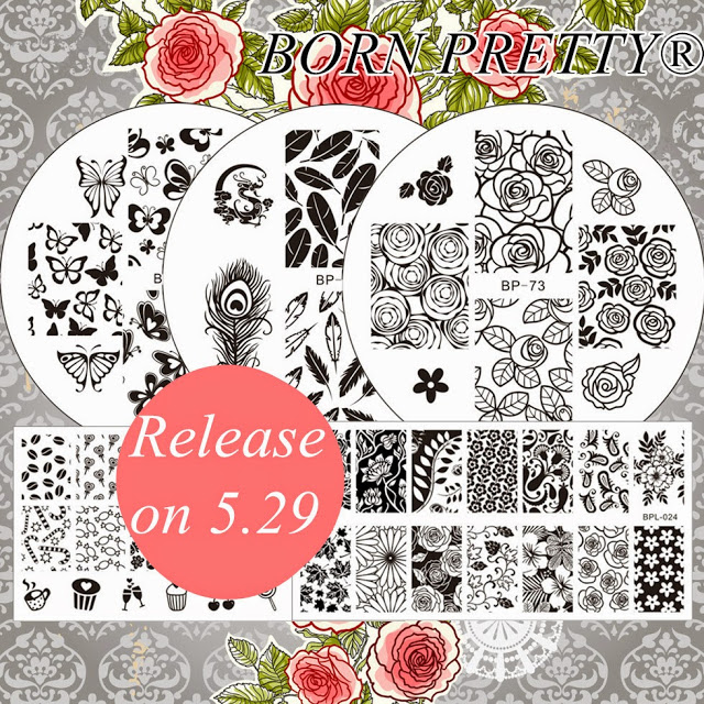 NEW Stamping Plates on BORN PRETTY Store