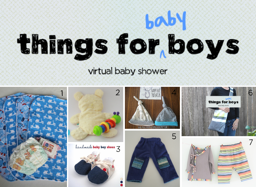 Things For Baby Boys A Virtual Baby Shower Baby Change Mat