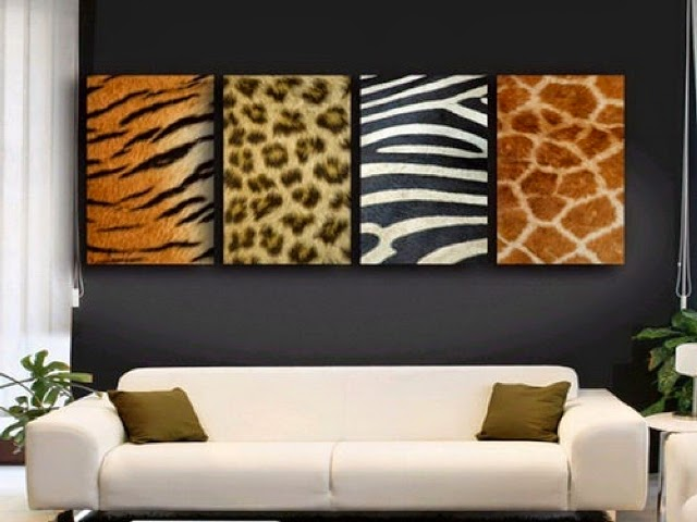 Zebra room wall paint ideas for Room decor zebra print