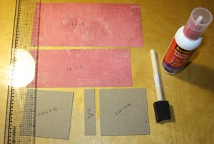 how to make hard book cover