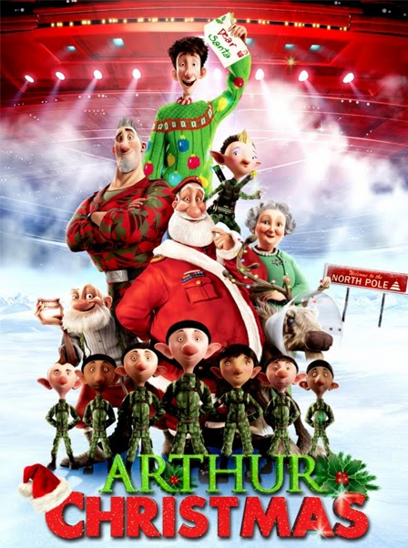 Arthur christmas cast