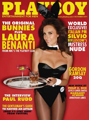Revista: Playboy USA - Laura Benati [PDF | 113.30 MB]