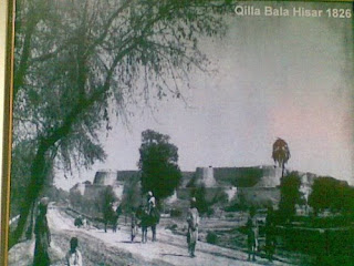 Fort Bala Hisar Peshawar Old Photo