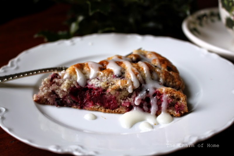 The Charm of Home: Blackberry Scones