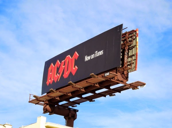 ACDC iTunes billboard Dec 2012