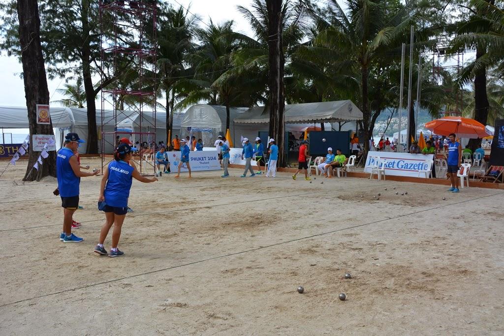 Asian Games Phuket Petanque