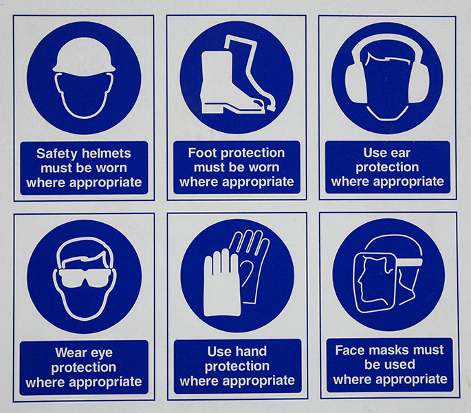 types of personal protective equipment ppe