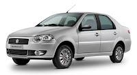 Novo Fiat Siena 2012 Prata lateral