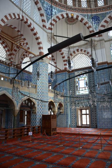 Rustem Pasa Mosque Istanbul Dome