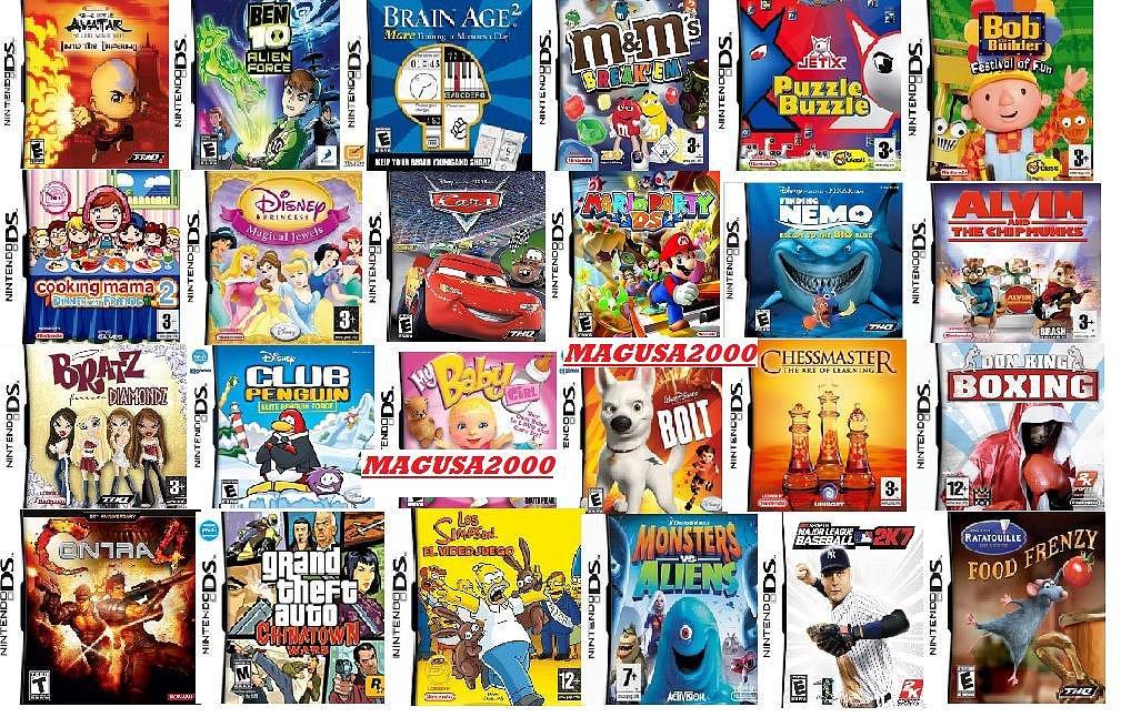 descargar juegos gratis para nintendo ds