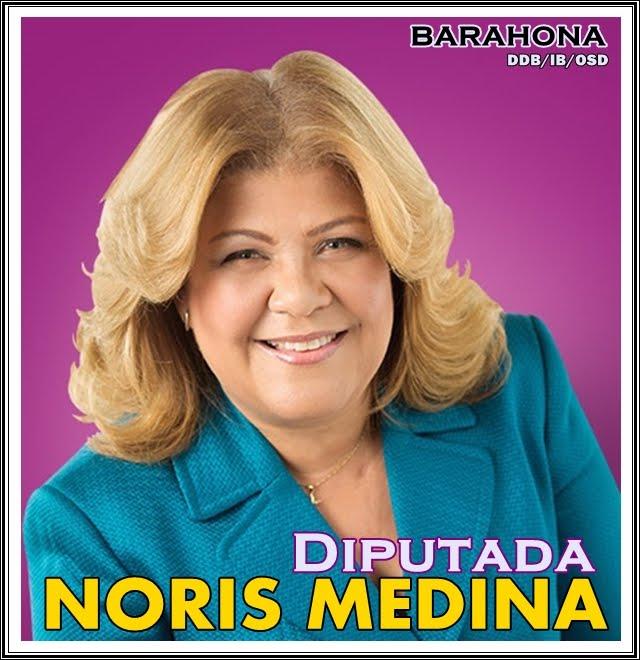 DIPUTADA NORIS MEDINA PLD BARAHONA 2016-2020