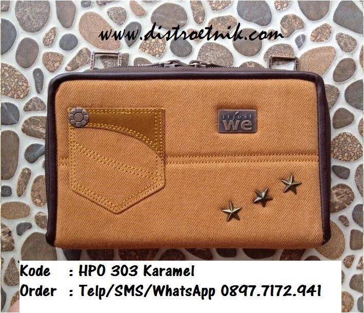 dompet jeans it jus we hpo 303 series caramel