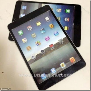 Gambar iPad mini didedah