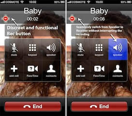 CallRecorder: Merekam Percakapan Anda di iPhone 4s - 5