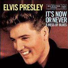 elvis presley its now or never image