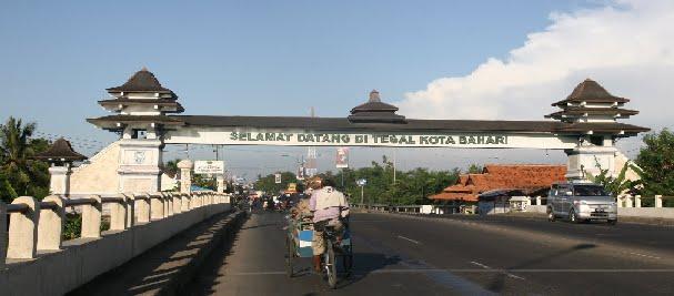 Gerbang  Barat Kota Tegal
