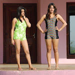 Tashu Kaushik,Sanjana in Dussasana Telugu Movie Stills