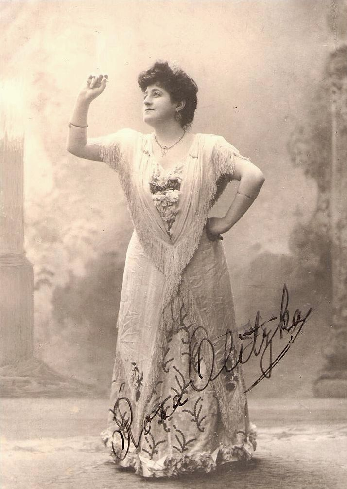 GREAT GERMAN CONTRALTO ROSA OLITZKA (1873 -1949) CD