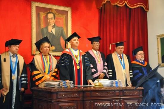 Vale destacar que en el acto académico se otorgaron certificados y se impusieron medallas y estolas a los integrantes. (Foto: Ramón Pico)