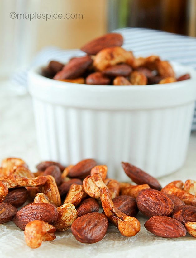 Tamari Roasted Almonds & Cashews