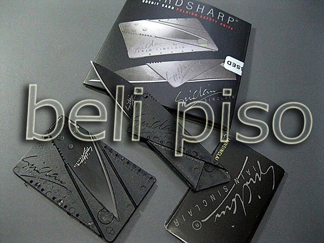 Jual Pisau Kartu / Card Sharp belipiso.com