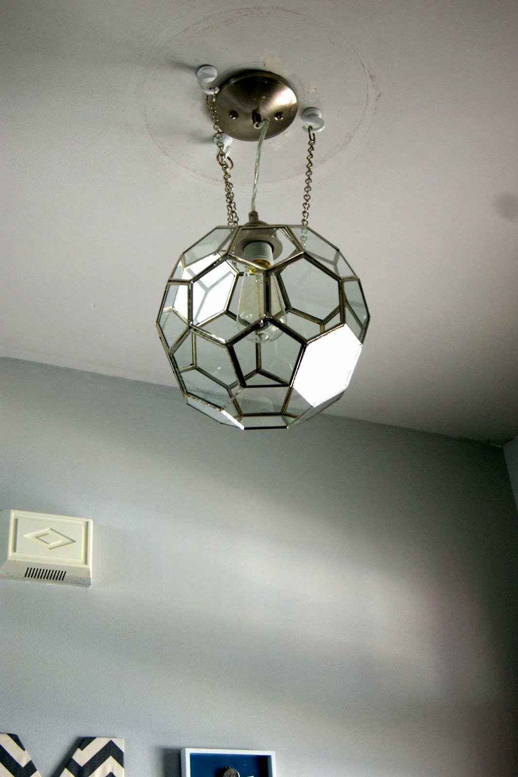 Corner Wall Light Fixture : Geometric Light Fixture Debacle - Ellis & Page