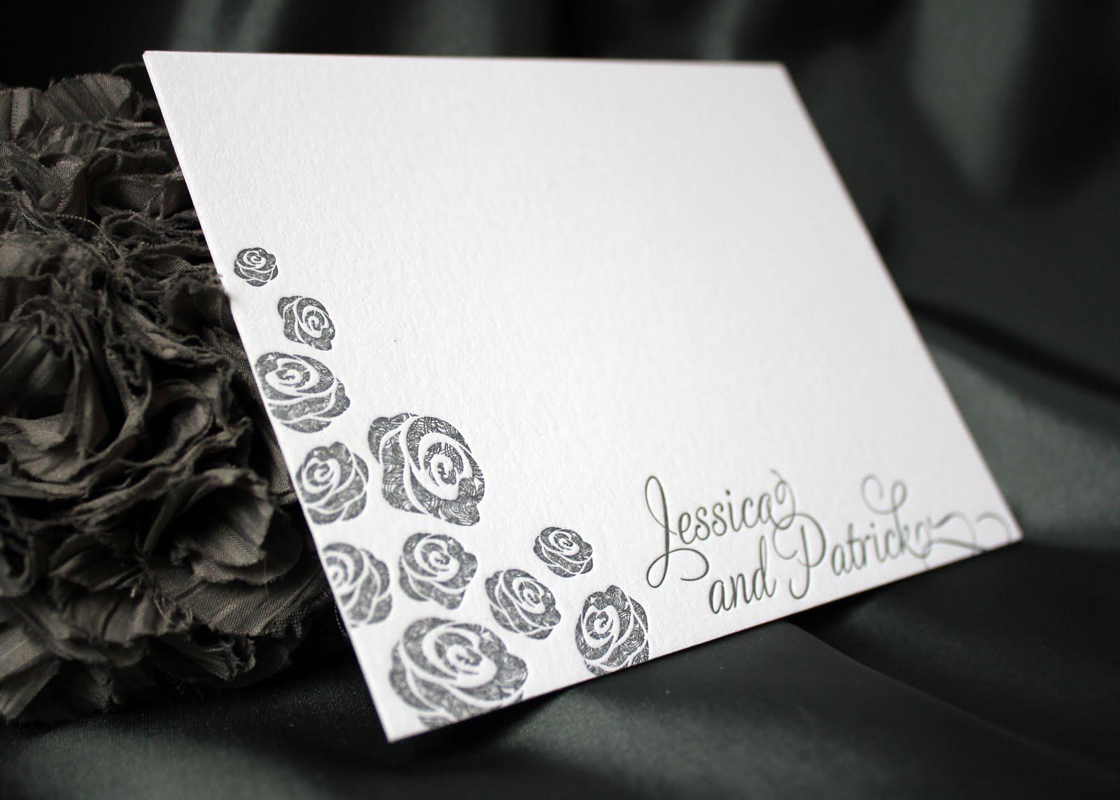 jessica + patrick. | wedding invitation ideas