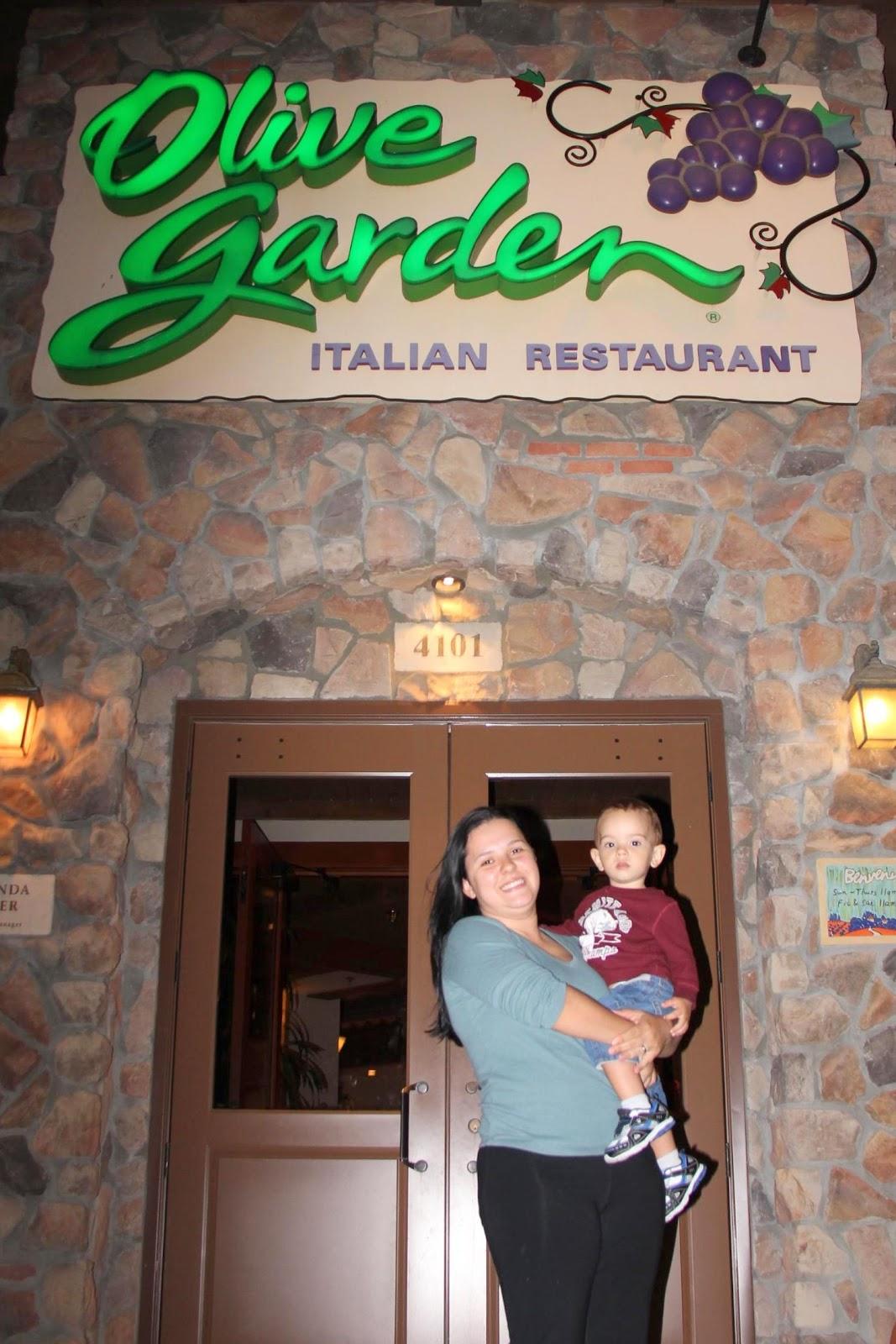 As Aventuras Do Heitor Pelo Mundo Restaurantes Olive Garden