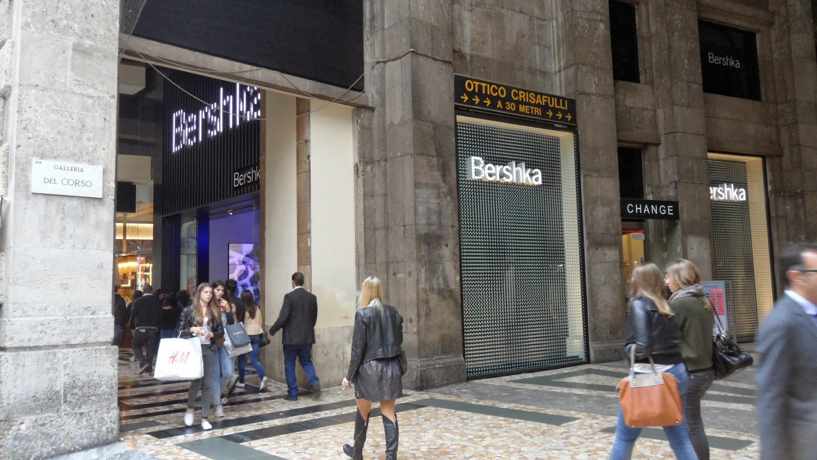Shopping tour a milano luisabeautyland for Bershka milano duomo