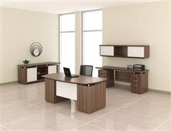 Mayline Office Desk Layout