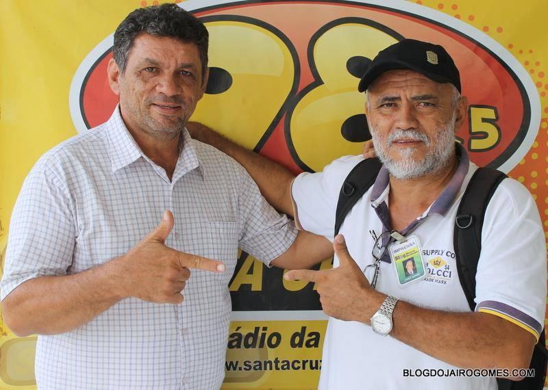 COMPANHEIRO DE TRABALHO JAIRO GOMES