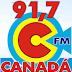 Rádio: Ouvir a Rádio Canadá FM 91,7 da Cidade de Acreúna - Online ao Vivo