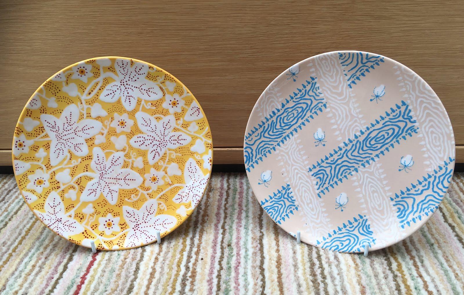 Jane Austen Plates