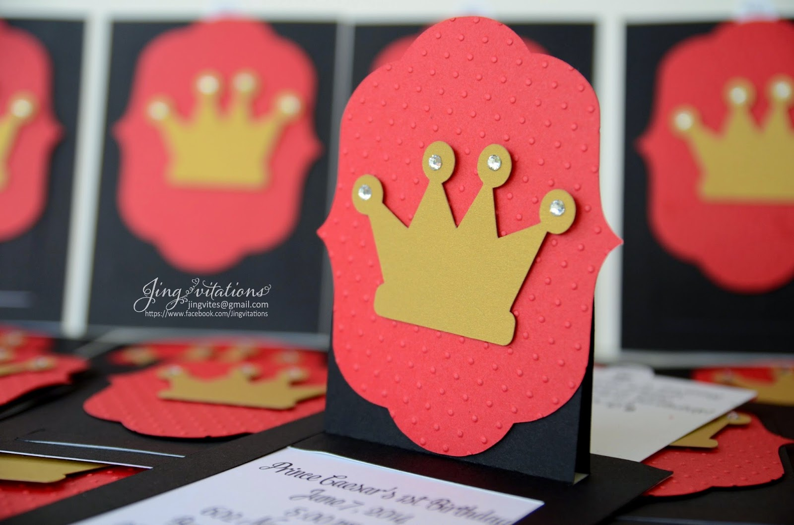 handmade Crown_invitations