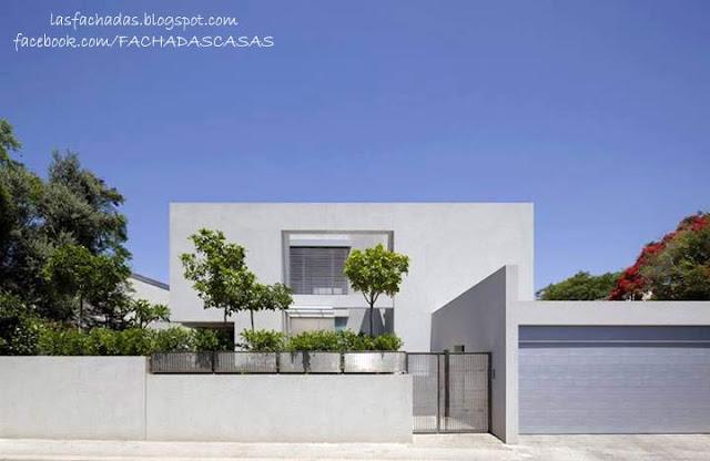 Fachadas de casas bonitas fachadas de casas y casas por for Cerramientos de jardines y casas