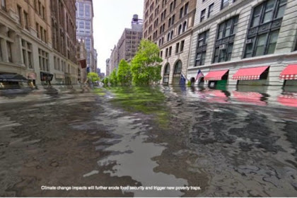 Visualisasi Tenggelamnya Kota di Dunia Akibat Perubahan Iklim
