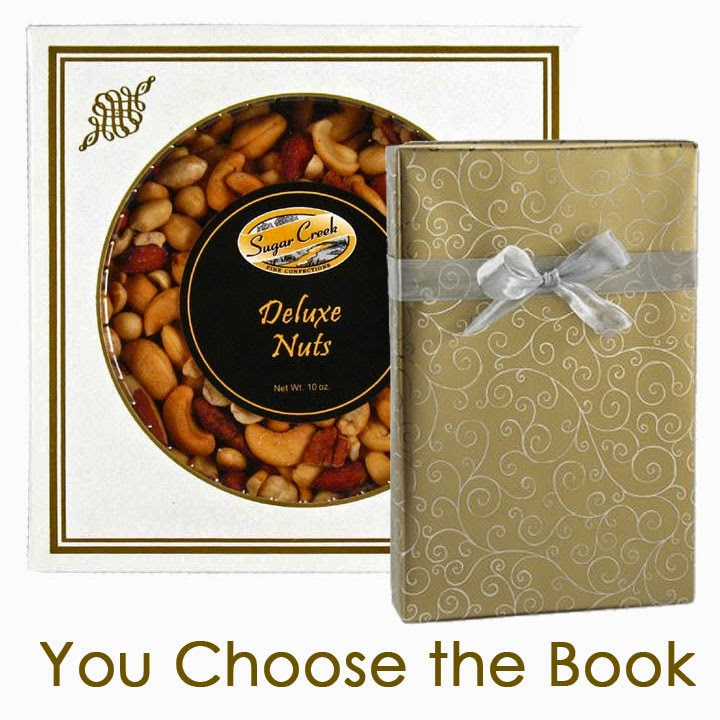 Nuts and Book Gift Set