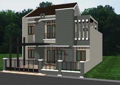 Gambar : Desain Rumah Minimalis 10